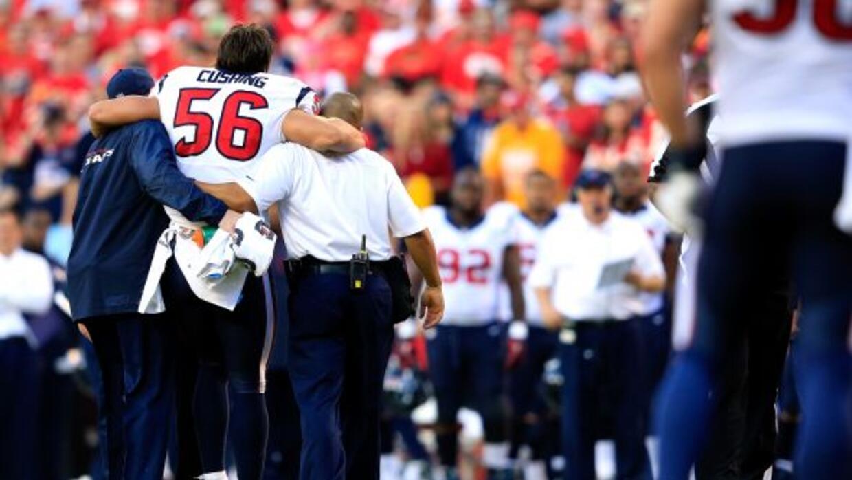 Brian Cushing dejaría a los Texans a media temporada por segundo año con...