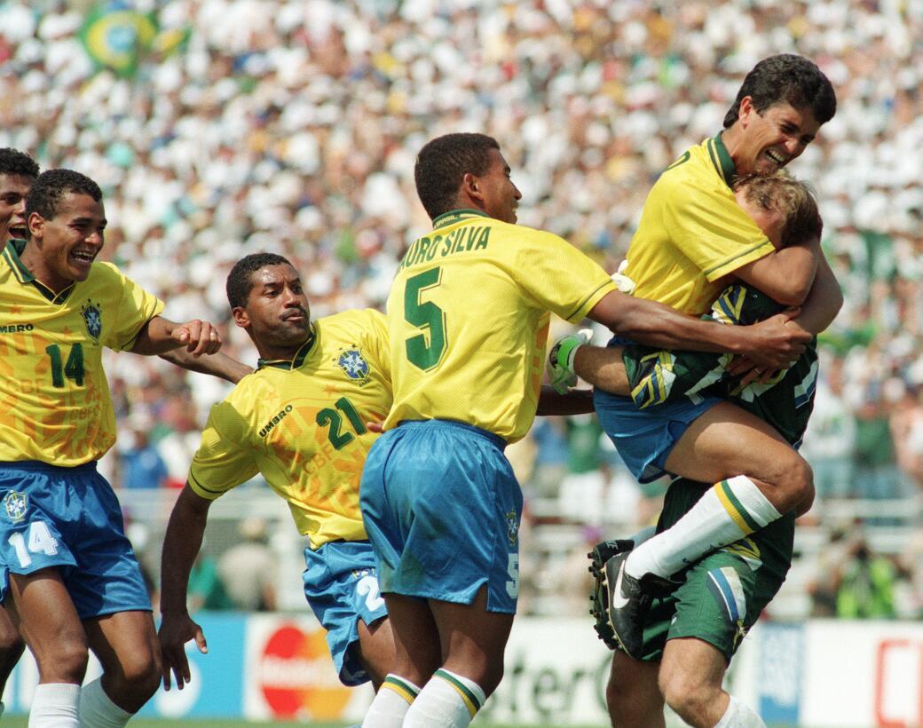 Taffarel con Brasil 1994