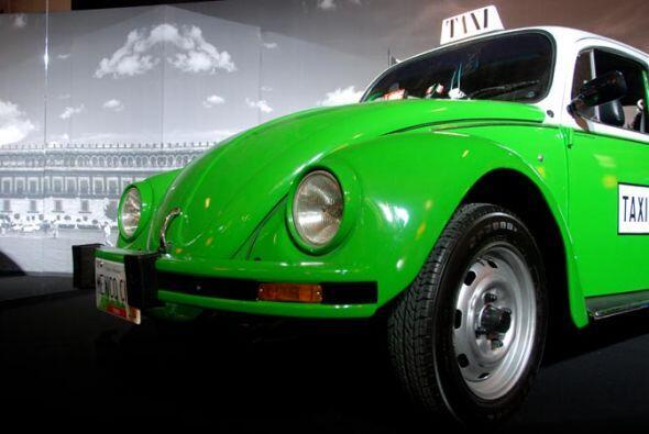"""Taxi Volkswagen """"Vocho'' 1992 Los escarabajos verdes fueron el símbolo d..."""