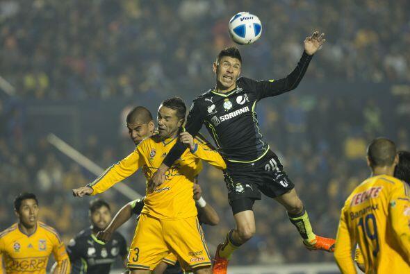 Santos Laguna rescató un empate a un gol en su visita a los Tigres de la...