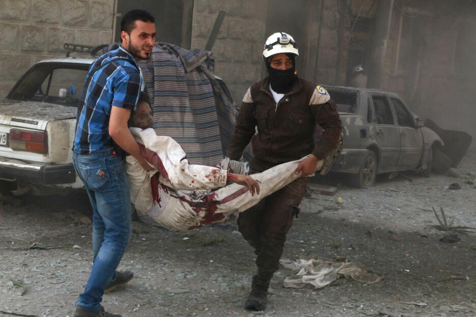 La carnicería continúa en Alepo pese a una tregua. RTX2C6CW.jpg