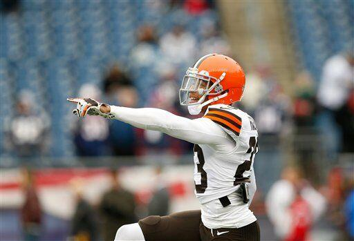 Joe Haden, esquinero de los Cleveland Browns (AP-NFL)