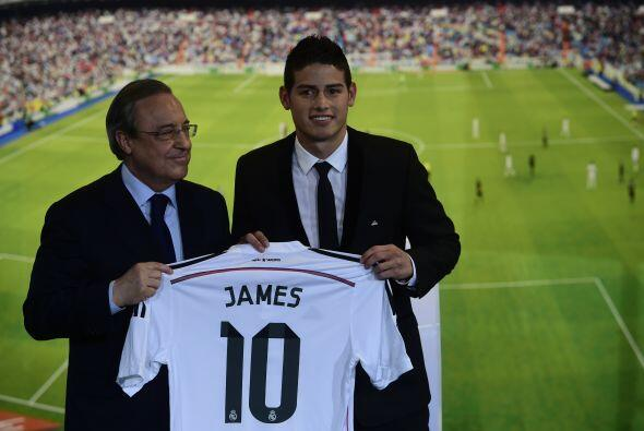 El ex hombre del Mónaco francés portará la playera con el número 10.