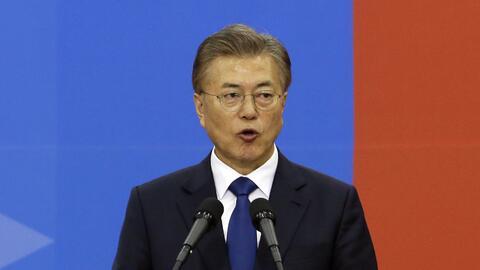 Presidente de Corea del Sur, Moon Jae-in, quiere afianza su rol de media...