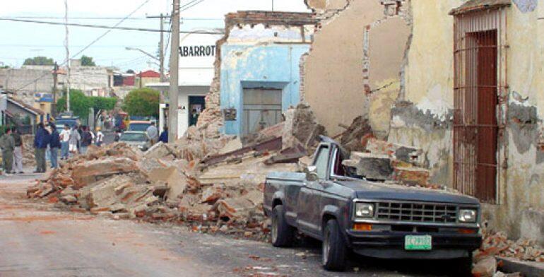 Sismo en Colima 2003