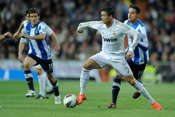 Cristiano Ronaldo marcó nuevamente 'doblete'.