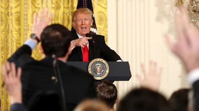 Trump trata de despejar el escándalo de Rusia, pero termina en una batal...