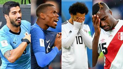 Estos son los países eliminados y los que clasificaron a octavos de final en lo que va del Mundial