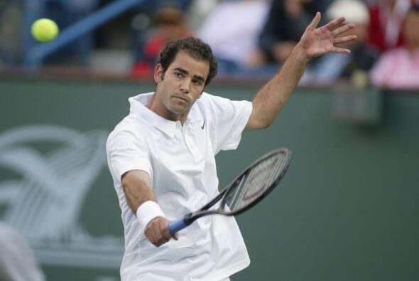 """Sampras """"el rey del swing"""" se retiró del deporte blanco en el 2003 debid..."""