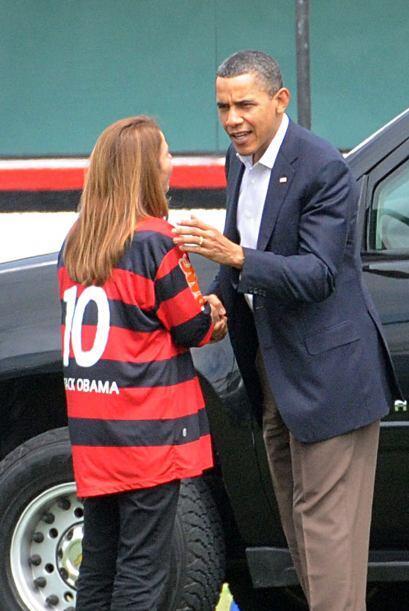 La presidenta del Flamengo, Patricia Amorim, habló personalmente...