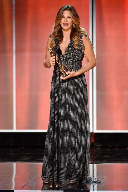 El Premio a la Vanguardia fue otorgado a Daisy Fuentes.