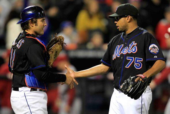 Mención especial para el relevista venezolano de los Mets, Francisco Rod...