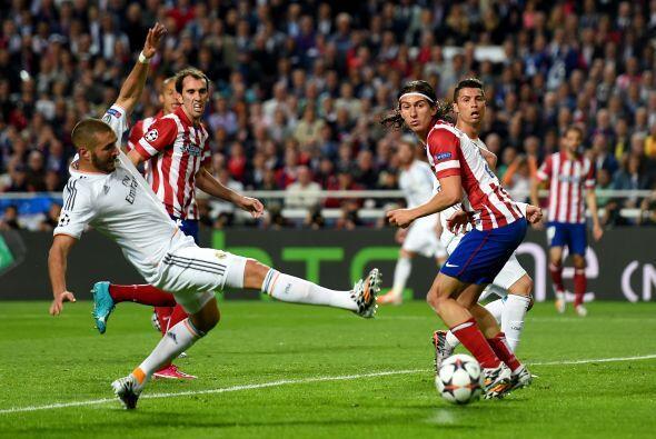 Karim Benzemá no pudo ser el hombre que pesara para el Madrid.