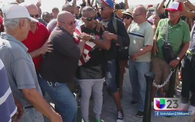Régimen arresta a opositor que gritó 'libertad' cuando llegaba crucero a...
