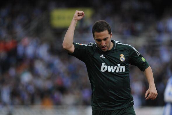 El argentino Gonzalo Higuaín tendría las horas contadas en el Madrid y s...