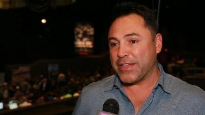 """""""A todo boxeador le pasa el tiempo"""": Oscar de la Hoya da su opinión sobre la pelea Pacquiao vs. Broner"""
