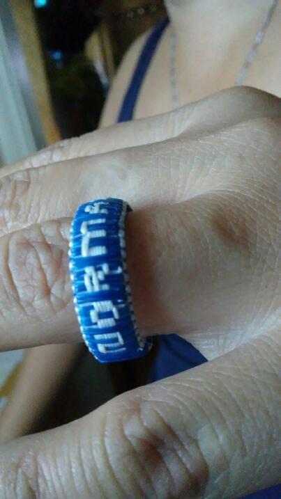 Romulo's DIY wedding ring