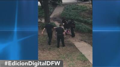 Acusan formalmente de asesinato al padre del bebé acuchillado en Texas frente a los vecinos
