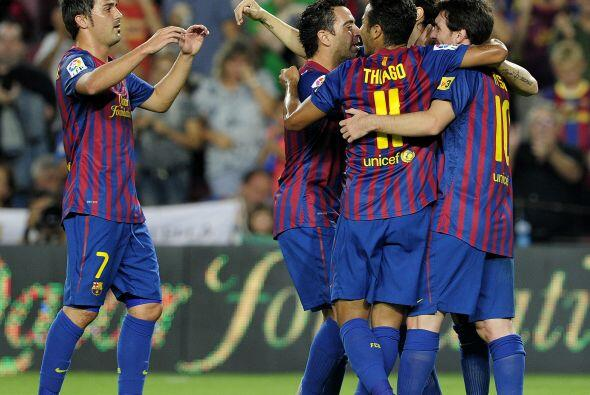 El Osasuna no entendía lo que pasaba mientras que el Barcelona demostrab...