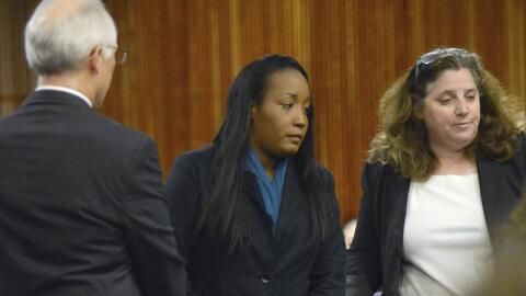 Ina Rogers, de 31 años, apareció en corte y fue acusada de...