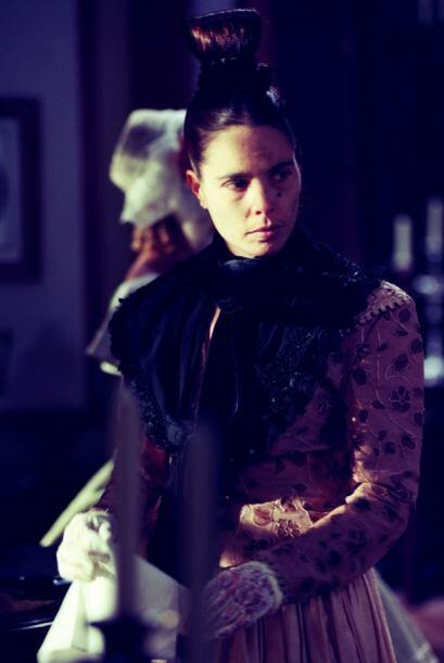 Lamentablemente esta fue la última vez que la vimos en una telenovela.