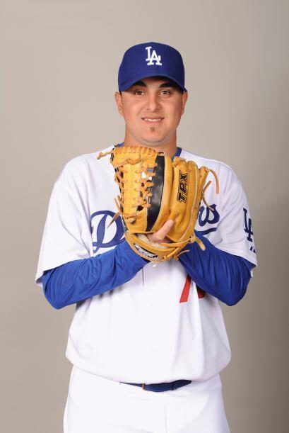 """El pitcher de Dodgers de Los Ángeles, Víctor Gárate (@vick_garate): """"Les..."""