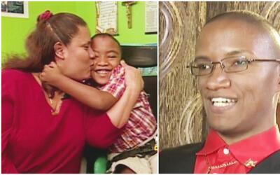 Alex Feria, el niño con discapacidad que salió adelante por el amor de s...