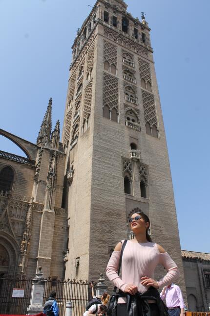 Estas son las fotos más bellas de Clarissa Molina en Sevilla IMG_4375.JPG