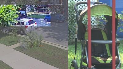 En video: los momentos previos al hallazgo del cadáver de un bebé en un vecindario de Chicago