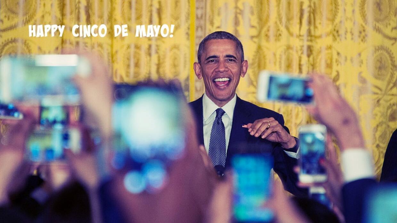 El presidente Obama en evento de Cinco de Mayo en la Casa Blanca.