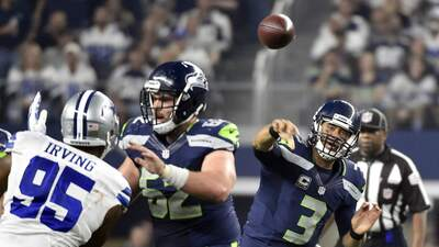 Seahawks 13-12 Cowboys: La defensiva de Seattle domina a la inofensiva d...