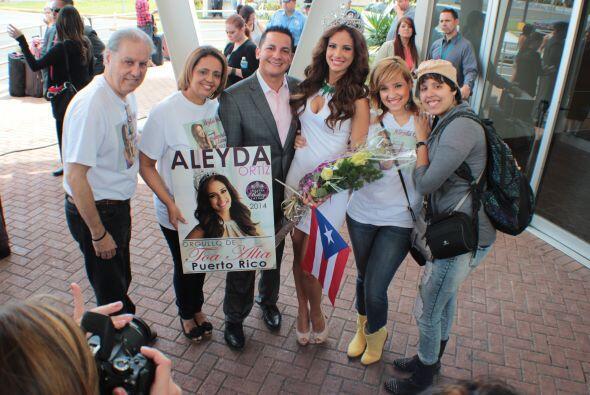 Aleyda Ortiz en Puerto Rico