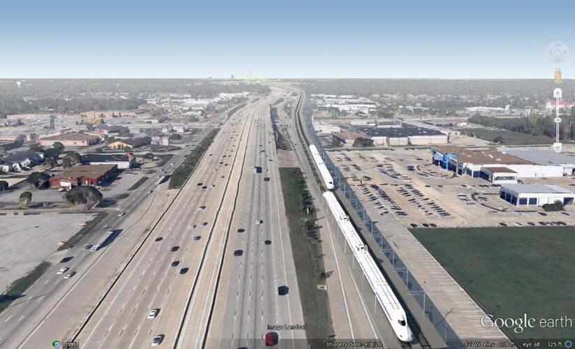 Proyecto Tren Bala Dallas/Houston