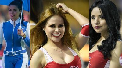 Las semifinales de la Liga MX tuvieron su cuota de belleza femenina en los estadios
