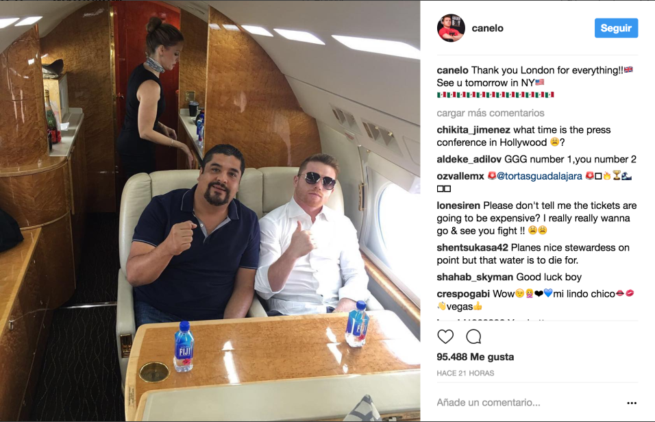 Canelo and Shannon De Lima go public with their romance
