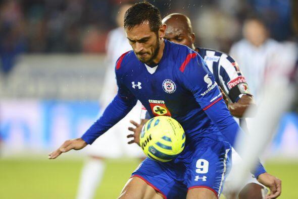 Roque llegó al fútbol mexicano como la contratación bomba del mercado de...