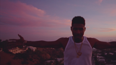 "Usher and Zaytoven release ""Peace Sign"" video"