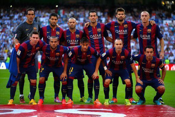 Sorpresa en la alineación inicial del Barcelona con el uruguayo Luis Suá...