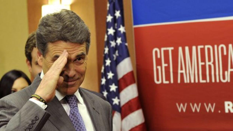 El gobernador texano no descarta buscar nuevamente su pase a la Casa Bla...