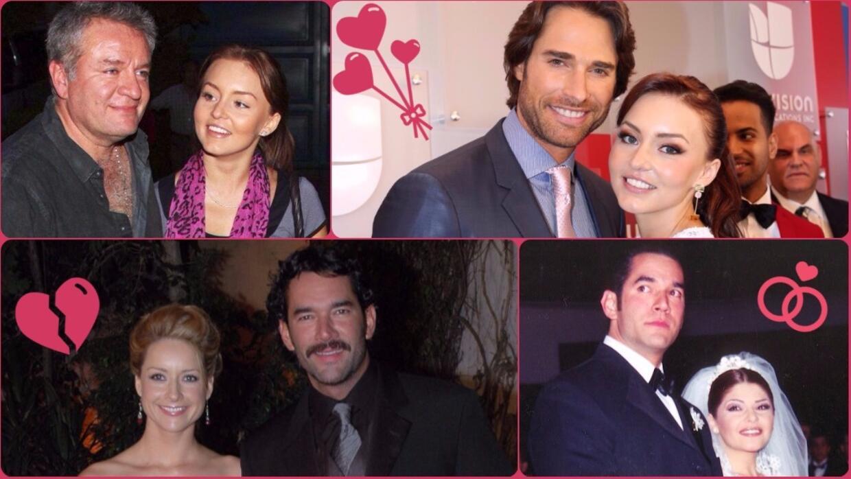 19 actores  de telenovela que vivieron triángulos amorosos en la...