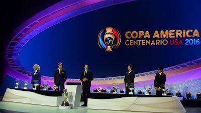 Sorteo de la Copa America Centenario