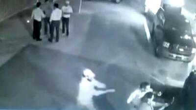 Cámara de seguridad captura el momento en el que fue asesinado el candidato Fernando Purón