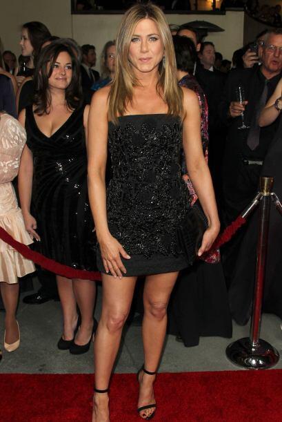 Es bien sabido que Aniston es muy cuidadosa con su alimentación, así que...