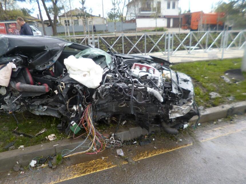 Los accidentes de carro de los futbolistas