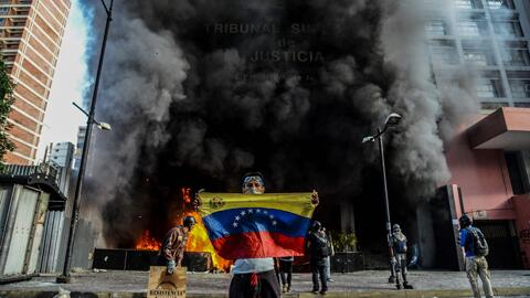 Canciller de Venezuela se retira de la Asamblea General de la OEA en Cancún