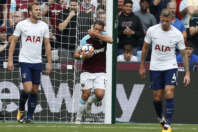(Premier League) West Ham [2]-3 Tottenham: llegó un nuevo gol de Javier...