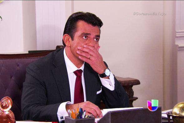 ¡No Fernando! No le creas nada a tu esposa. Es una sucia trampa contra l...