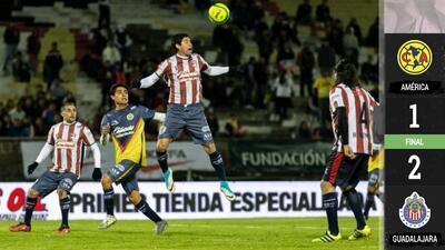Chivas fue más que América en duelo de leyendas