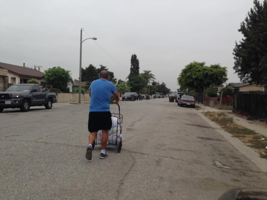 El 65% de los casi 100,000 habitantes de Compton es hispano.