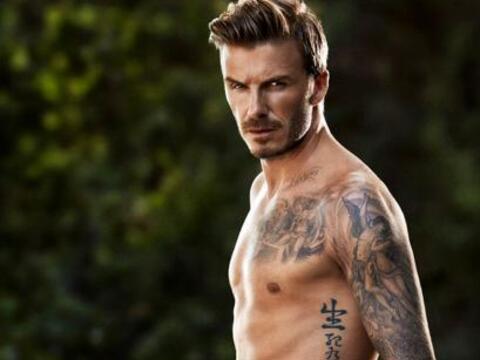 David Beckham es muy bueno, tanto fuera como dentro de las canchas y,  a...